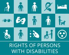 Logo - La Convention de l'ONU relative aux droits des personnes handicapées (CDPH)